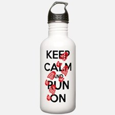 Cute Running marathon Water Bottle