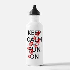 Funny Marathons Water Bottle