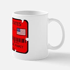 Cute Zombie permits Mug