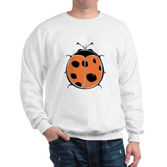Cute Round Ladybug Sweatshirt