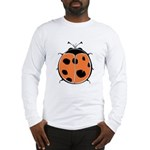 Cute Round Ladybug Long Sleeve T-Shirt