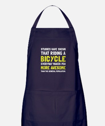 Bicycle More Awesome Apron (dark)