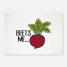 Beets Me... 5'x7'Area Rug