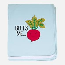 Beets Me... baby blanket