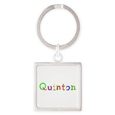 Quinton Balloons Square Keychain