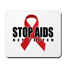 Stop AIDS Mousepad