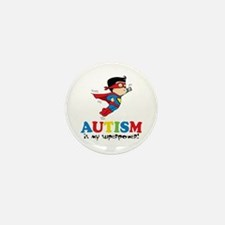 Autism is my superpower! Mini Button (10 pack)