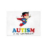 Autism 5x7 Rugs