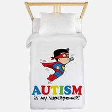 Autism is my superpower! Twin Duvet
