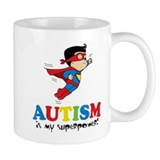 Autism is my superpower! Mugs