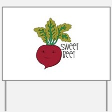 Sweet Beet Yard Sign