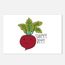 Sweet Beet Postcards (Package of 8)