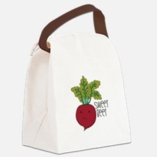 Sweet Beet Canvas Lunch Bag