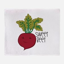 Sweet Beet Throw Blanket