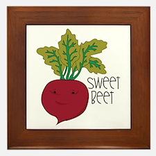 Sweet Beet Framed Tile