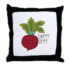 Sweet Beet Throw Pillow