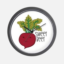Sweet Beet Wall Clock