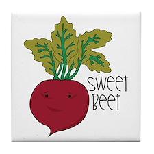 Sweet Beet Tile Coaster