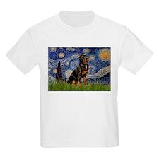 Starry Night & Rottie T-Shirt