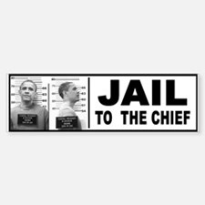 Obama Jail Bumper Bumper Bumper Bumper Sticker