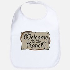 Welcome To Our Ranch! Bib