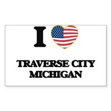 I love Traverse City Michigan Decal