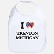 I love Trenton Michigan Bib