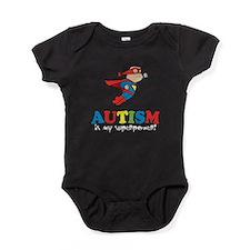 Autism is my superpower! Baby Bodysuit