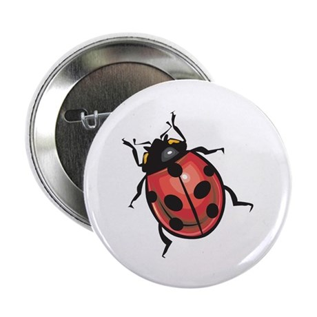 """Lady Bug 2.25"""" Button (100 pack)"""