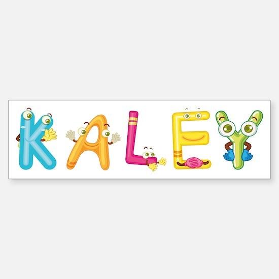 Cute Kaley Sticker (Bumper)