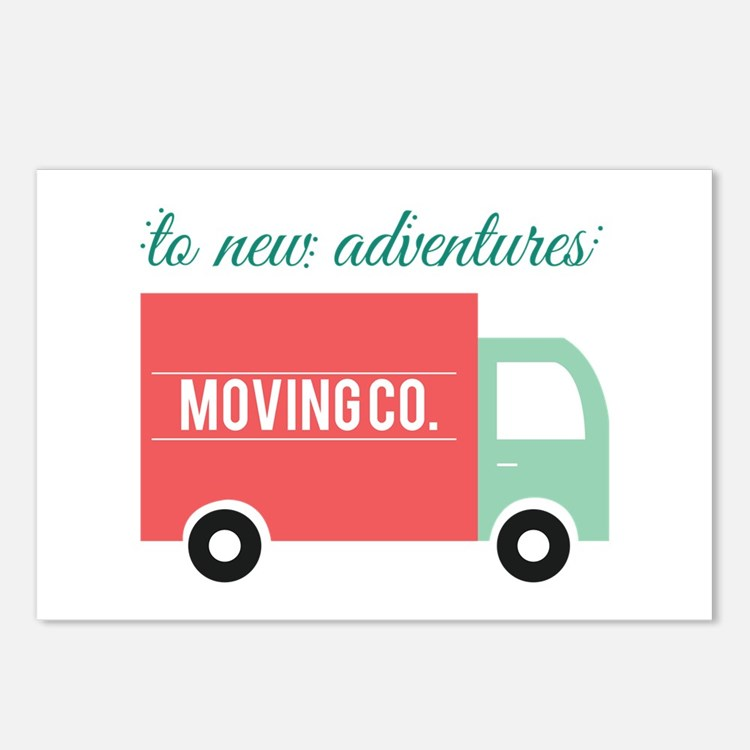 New Adventures Postcards (Package of 8)