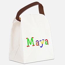 Maya Balloons Canvas Lunch Bag