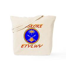 MVSKOKE ETVLWV Tote Bag