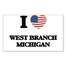 I love West Branch Michigan Decal