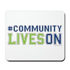 Communityliveson Mousepad