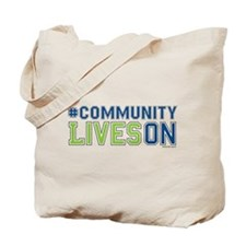 CommunityLivesOn Tote Bag