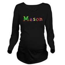 Mason Balloons Long Sleeve Maternity T-Shirt