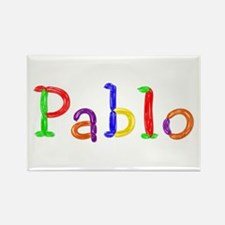 Pablo Balloons Rectangle Magnet