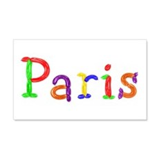 Paris Balloons 20x12 Wall Peel