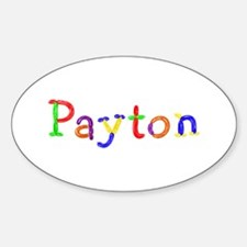 Payton Balloons Oval Decal
