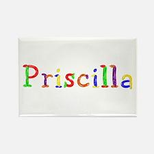 Priscilla Balloons Rectangle Magnet