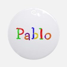Pablo Balloons Round Ornament