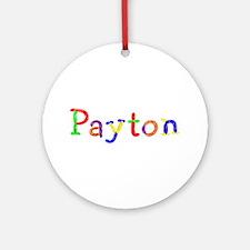 Payton Balloons Round Ornament