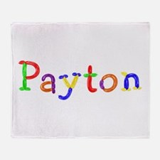 Payton Balloons Throw Blanket