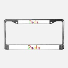 Paola Balloons License Plate Frame