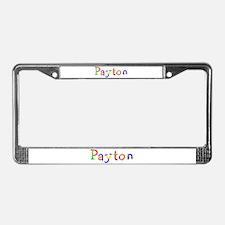 Payton Balloons License Plate Frame