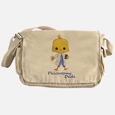 Phlebotomy Dude Messenger Bag