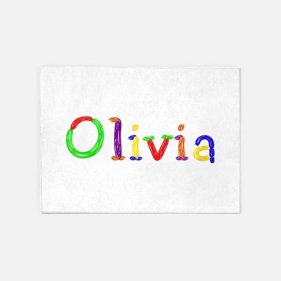 Olivia Balloons 5'x7' Area Rug