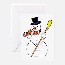 The Masonic Snowman Greeting Cards (Pk of 20)