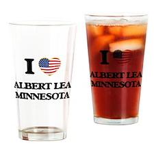 I love Albert Lea Minnesota Drinking Glass